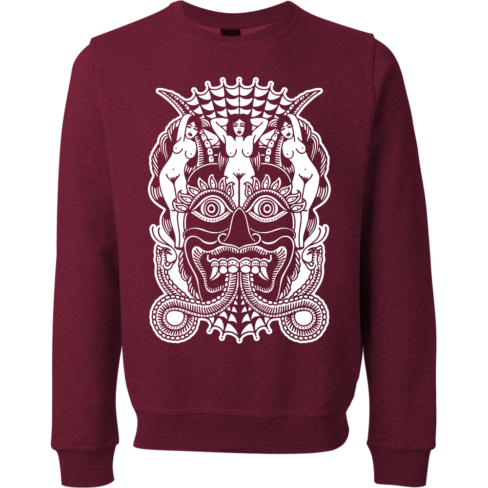Mr Grady Mask Crewneck